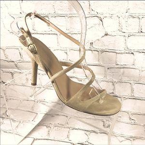 Via Spiga gold Leather sandals